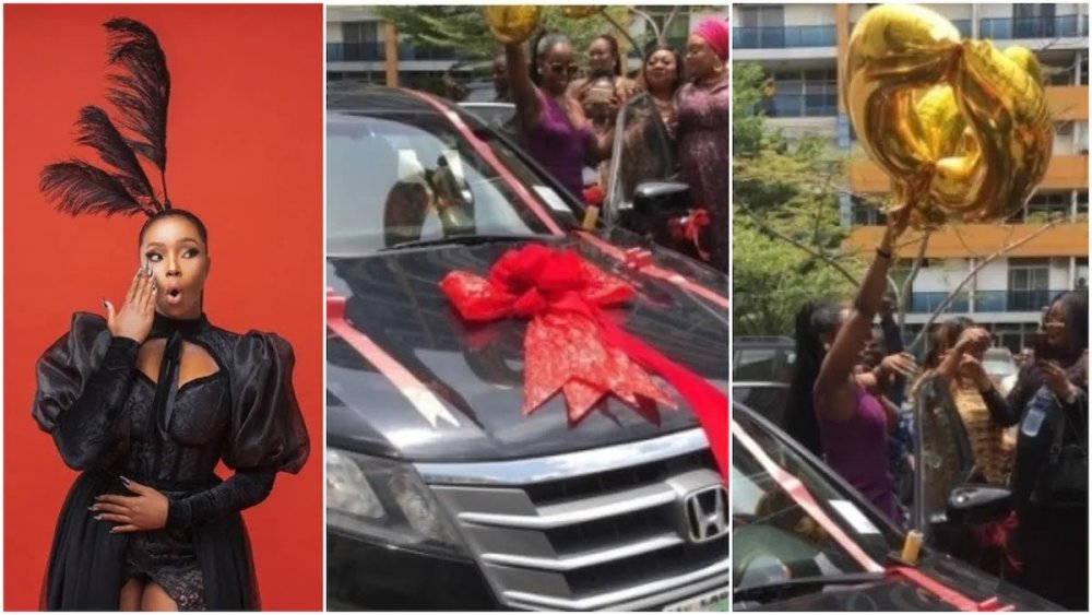See what surprise Bambam got on her birthday
