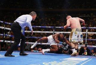 Anthony Joshua defeat