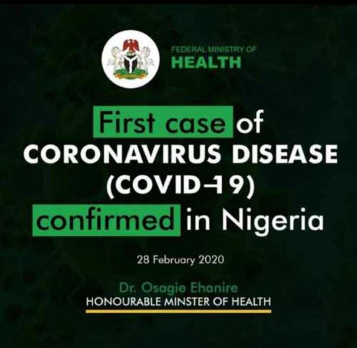 BREAKING: Coronavirus outbreak in LagosNigeria